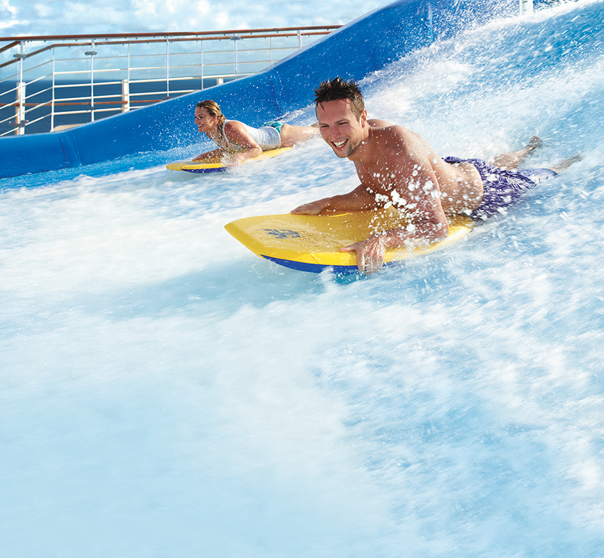 Royal Caribbean - Surfing